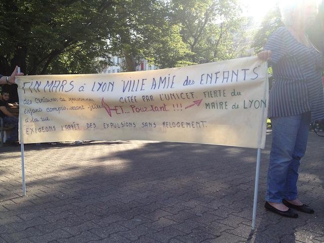Une solution d'hébergement trouvée pour les demandeurs d'asile de Perrache