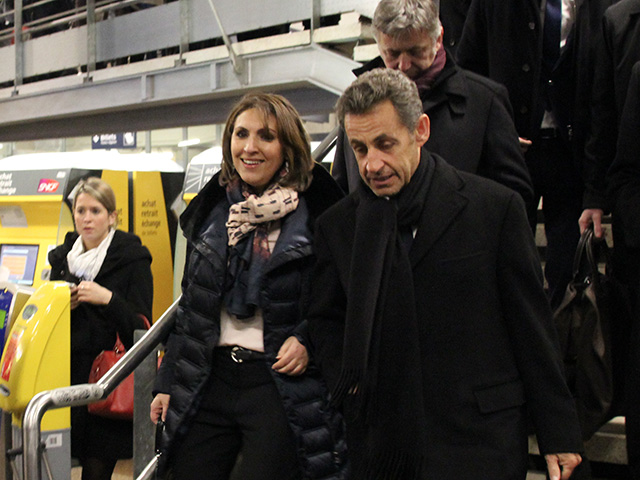 Nora Berra accueillant Nicolas Sarkozy - LyonMag