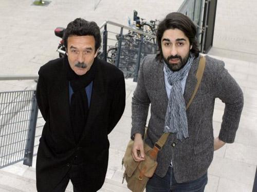 Edwy Plenel et Fabrice Arfi - DR Nicolas Tucat AFP