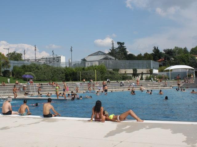 Sept interpellations ont été effectuées à la piscine de Mermoz