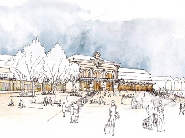 Une consultation lancée sur le projet de rénovation de Perrache
