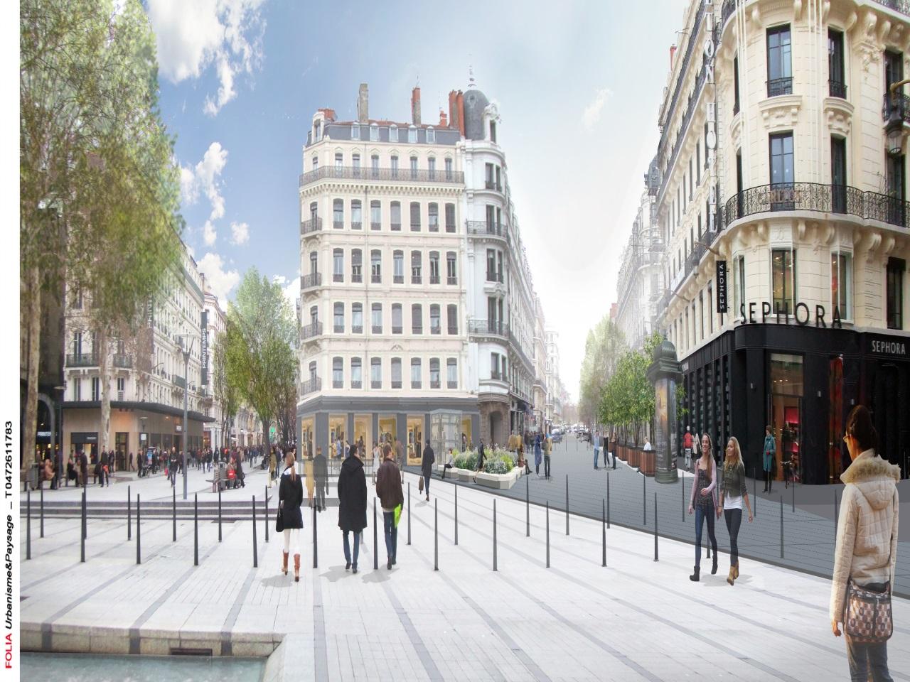 Place de la République - Agence Folia urbanisme et Paysage