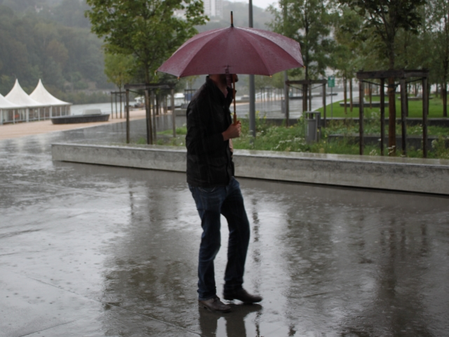 Le Rhône toujours en alerte orange pluie et inondation