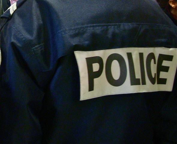 Une trentaine de policiers réunis devant le palais de justice de Lyon