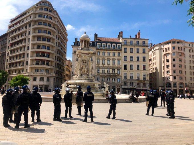 Les manifestations de nouveau interdites samedi dans le centre-ville de Lyon