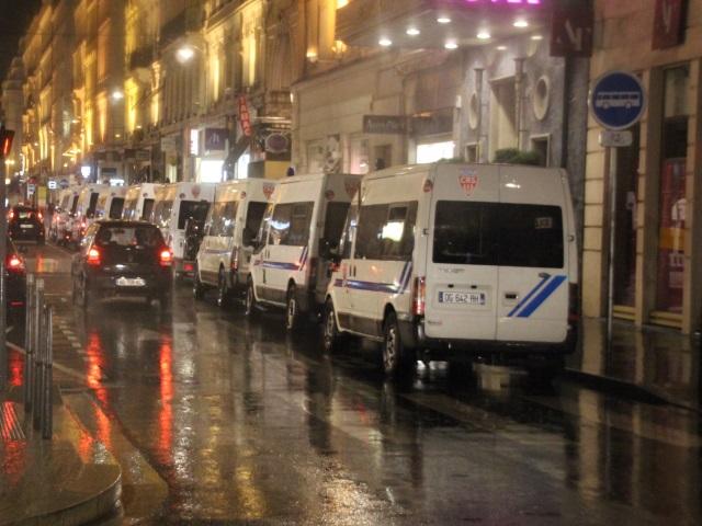 150 policiers étaient mobilisés pour surveiller les 80 manifestants - LyonMag