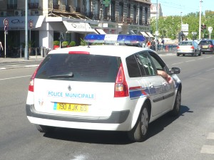 Voiture police municipale - Photo Lyonmag.com