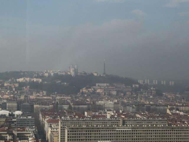 Un épisode de pollution aux particules fines en cours à Lyon