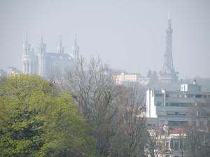 La canicule va entraîner une pollution de l'air à Lyon