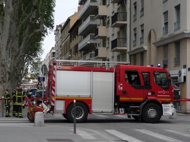 Une fuite de gaz sur le chantier de la rue Garibaldi à Lyon