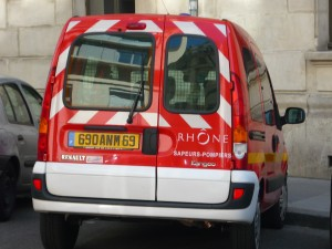 Villeurbanne: un homme prend un malaise au volant