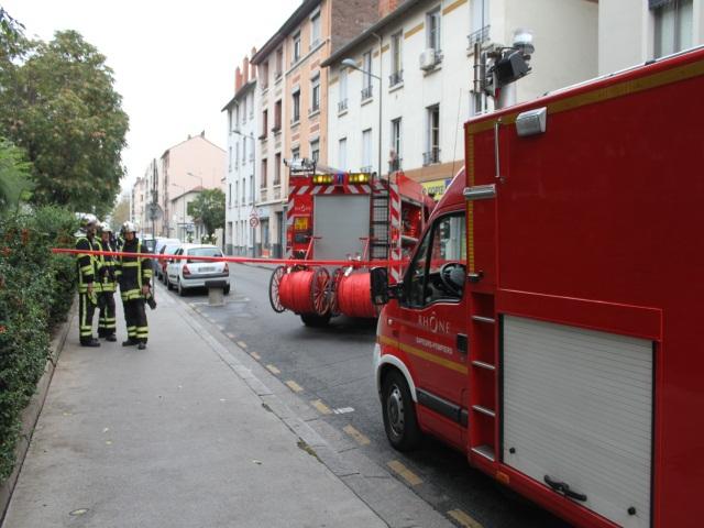 Fuite de gaz à Villeurbanne lundi matin