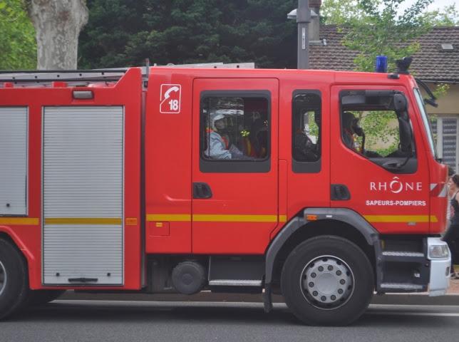 Villeurbanne : 95 personnes évacuées après l'incendie d'un immeuble