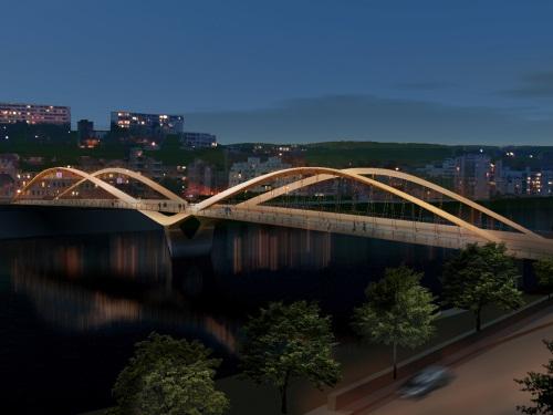 Pont Schuman : recours rejeté, les travaux continuent