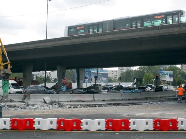 Les travaux du Pont Pasteur mettent à mal la patience des automobilistes de Lyon
