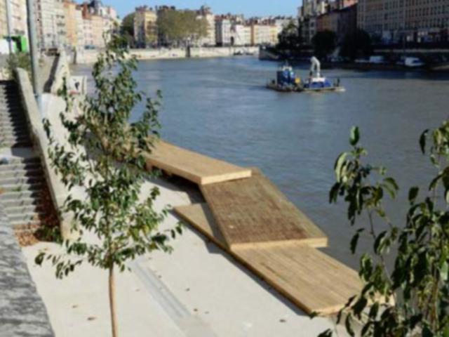 Lyon : une séquence des rives de Saône ouverte au public, ce vendredi soir