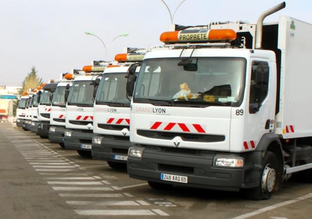 Nouvelle organisation pour la collecte des déchets lundi dans le Grand Lyon