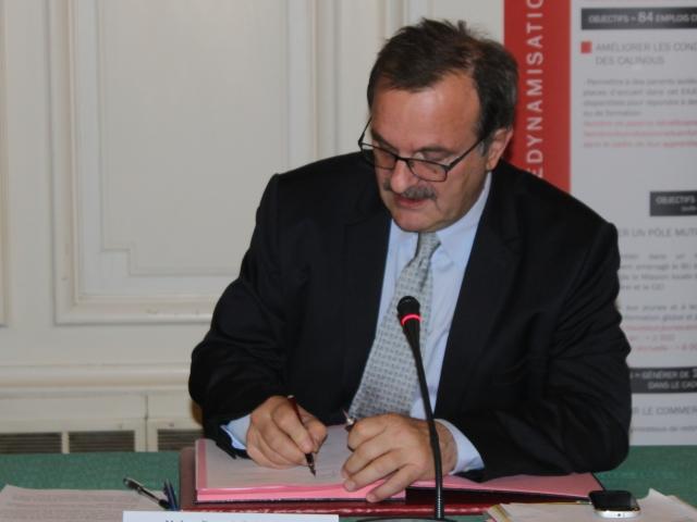 Le préfet du Rhône reçu par François Hollande pour le Pacte de Responsabilité