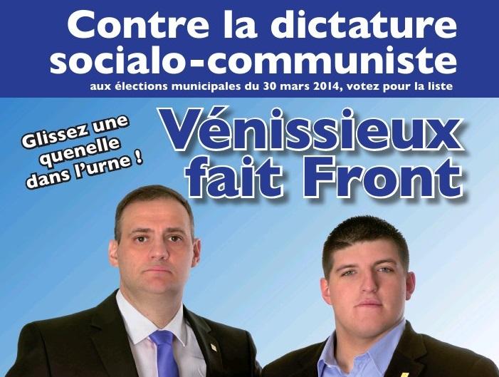 """""""Glissez une quenelle dans l'urne !"""" : Benedetti et Gabriac choissisent la provoc' pour leur nouvelle affiche"""