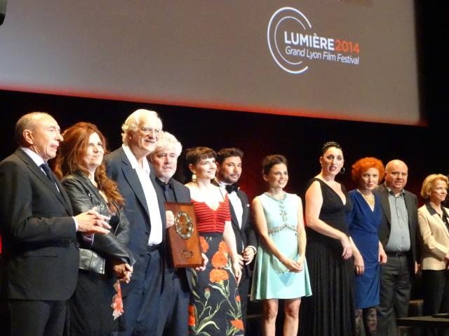 Clap de fin ce dimanche pour l'édition 2014 du Festival Lumière de Lyon !