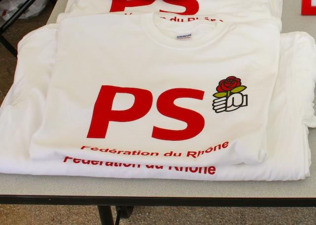 Le PS du Rhône célèbre la fête de la Rose