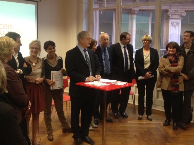 Rhône : l'équipe de campagne locale de François Hollande dévoilée