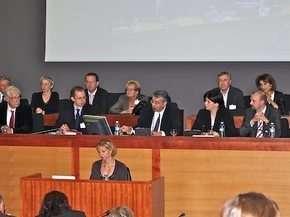 Séance du conseil régional de Rhône-Alpes - photo Lyonmag.com
