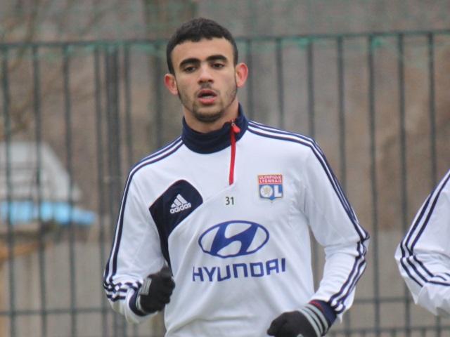 OL : Rachid Ghezzal forfait pour le match de Ligue des Champions