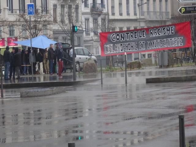 Rassemblement contre le racisme ce samedi à Lyon