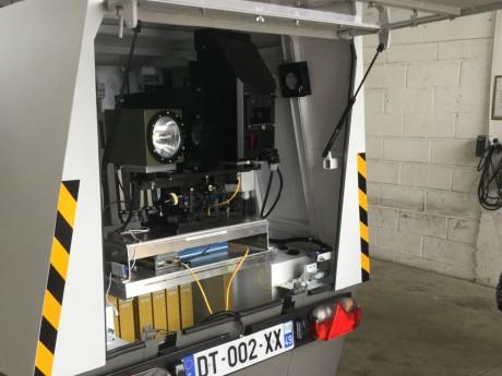 Rhône : le radar-chantier change (encore) d'emplacement