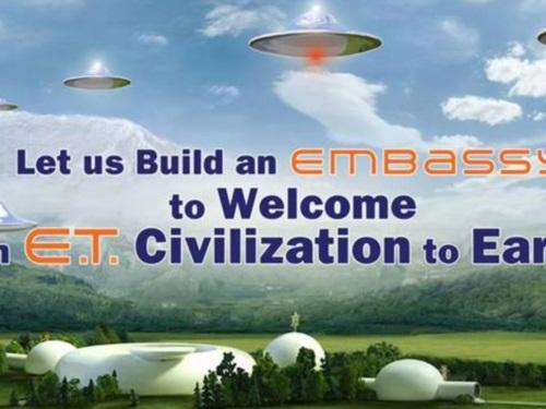 Lyon choisie par les Raëliens pour promouvoir leur projet d'ambassade pour aliens
