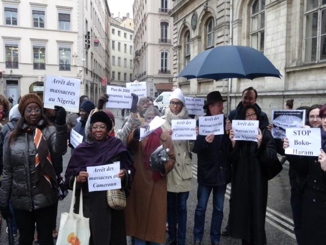 Lyon : 80 personnes demandent l'arrêt des massacres commis par Boko Haram