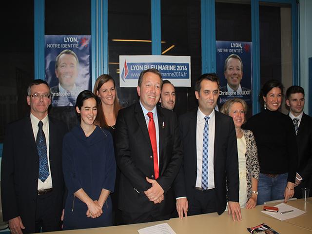 Municipales à Lyon : Christophe Boudot (FN) dévoile ses têtes de liste pour les 9 arrondissements
