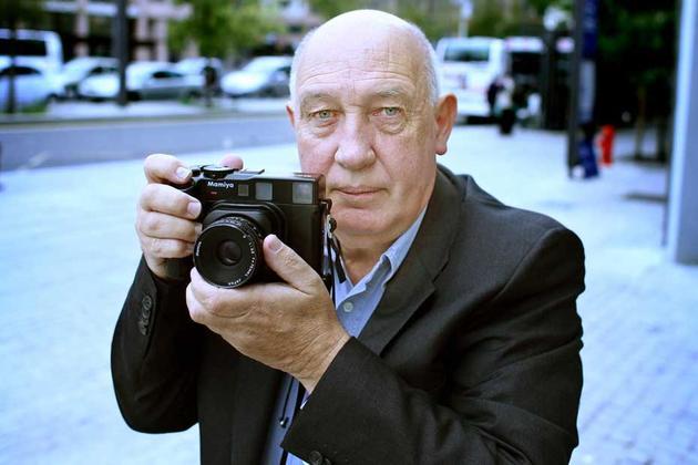 Le Caladois Raymond Depardon, photographe officiel du président Hollande