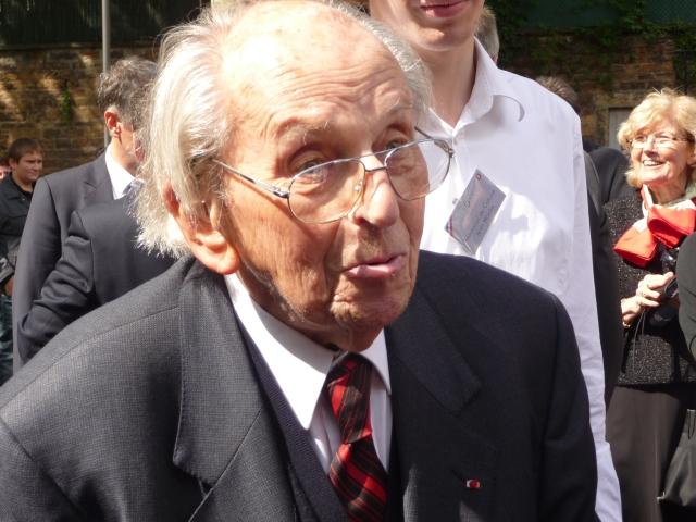 Caluire : quand Raymond Aubrac présentait au public le lieu de son arrestation