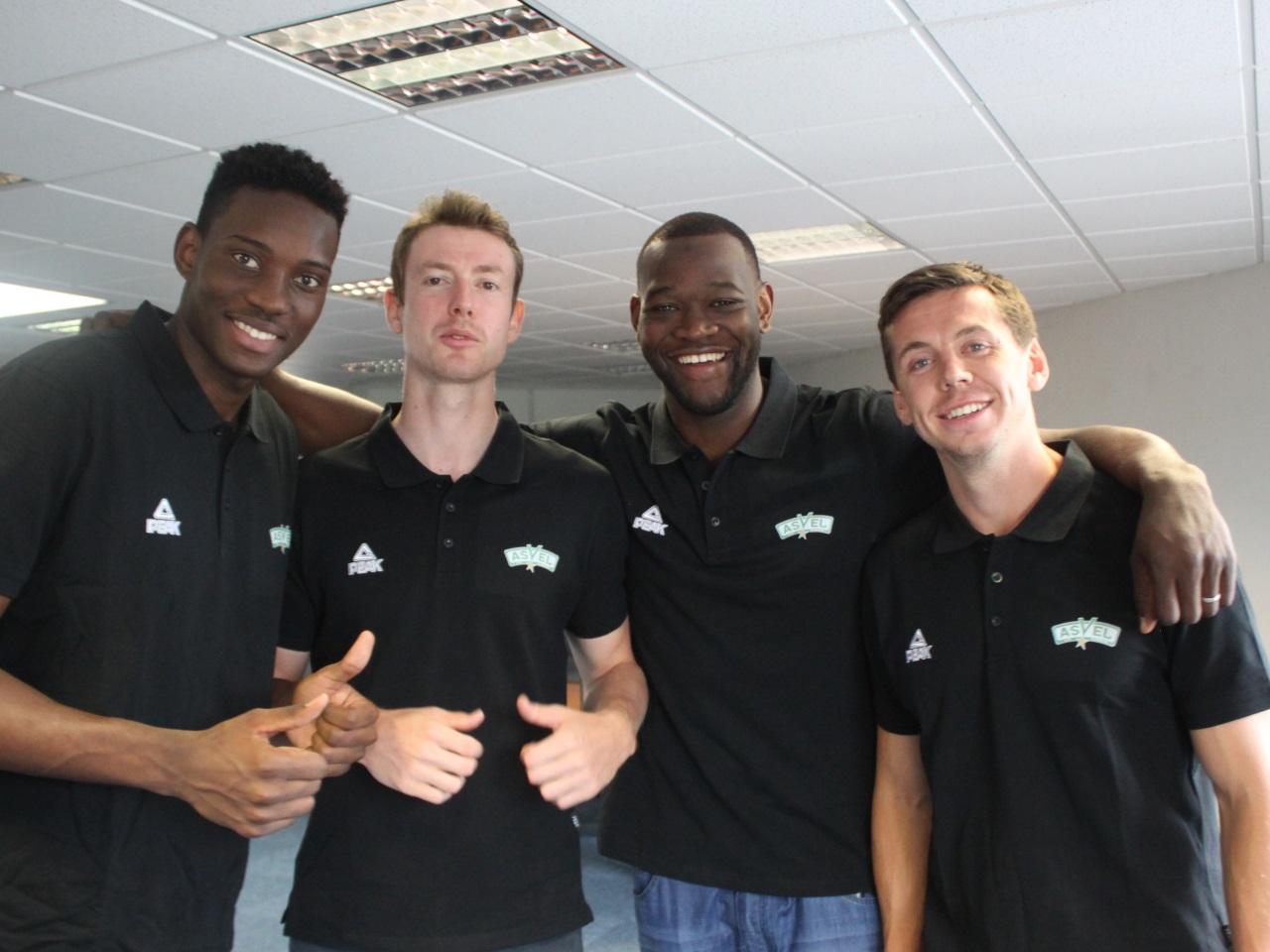 De gauche à droite: Stéphane Gombauld, Nicolas Lang, Charles Kahudi et  Edouard Choquet - LyonMag.com