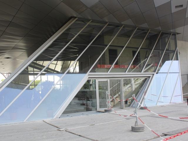 L'entrée de la future brasserie - LyonMag