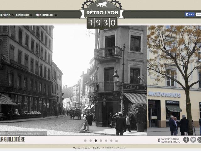 Retro Lyon : de 1929 à 2014, un étudiant vous fait découvrir l'effet du temps sur Lyon