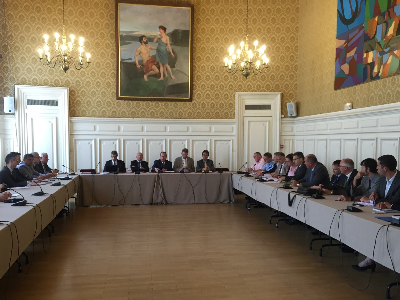 Une réunion était organisée à la préfecture du Rhône au lendemain de l'attentat de Nice - Lyonmag.com