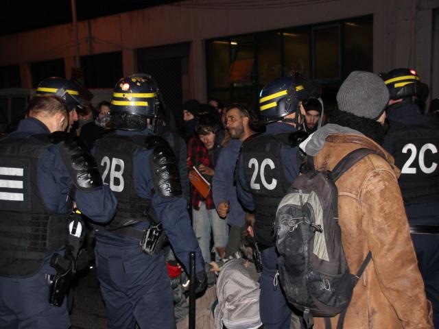 Les forces de l'ordre ont du intervenir - LyonMag