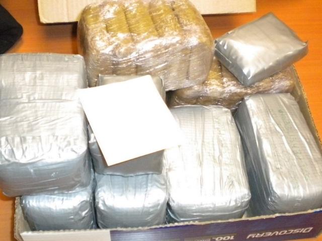 Plus de 14 kilos de résine de cannabis interceptés sur l'A7 par les douaniers de Lyon