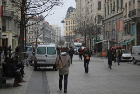 Lyon : la rue de la Ré à la 9e place des artères commerçantes les plus chères de France