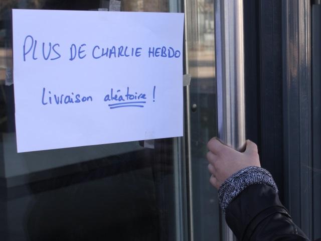 "Mais où était passé ""Charlie Hebdo"" à Lyon ?"