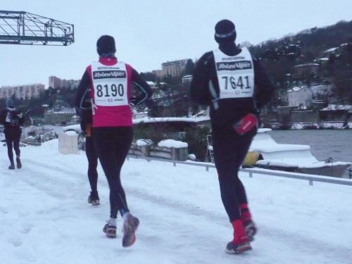 La 60e SaintéLyon se courra bien dans le sens Saint-Etienne - Lyon