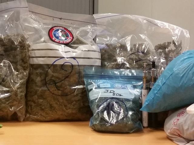 Trois Lyonnais interpellés avec 3 kg de cannabis sur l'A7
