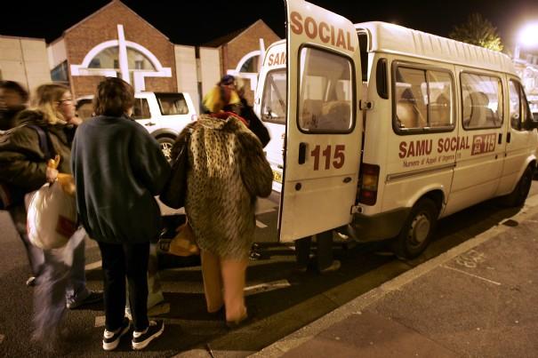 Les professionnels de l'urgence sociale rhônalpine mobilisés