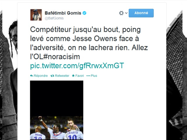 La petite erreur historique de Bafé Gomis sur Twitter