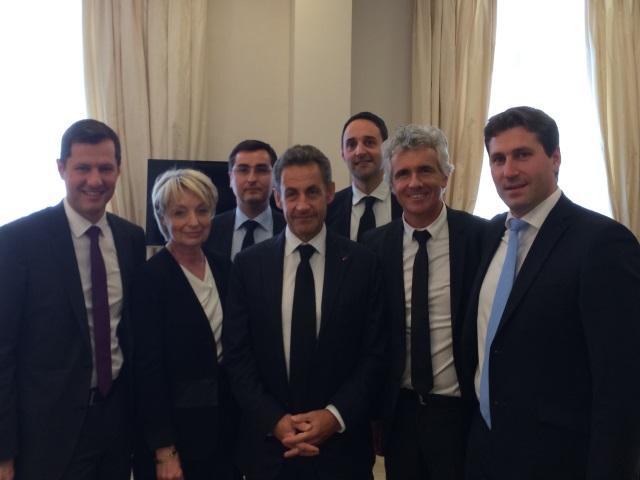 Cinq maires de Rhône-Alpes ont déjeuné avec Nicolas Sarkozy