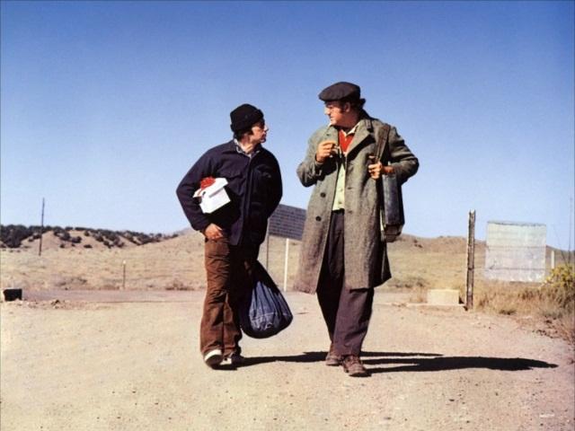 Al Pacino et Gene Hackman tiennent les rôles principaux dans l'Epouvantail - DR