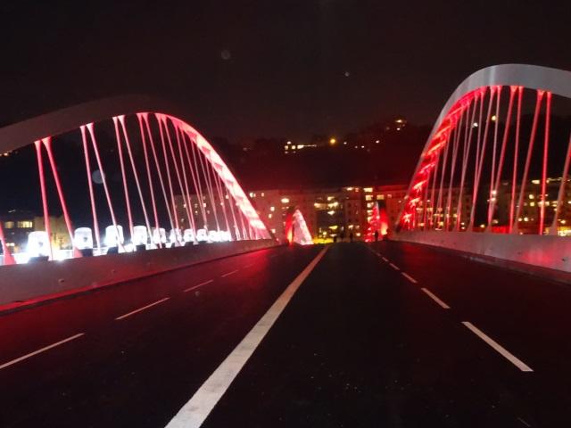 Lyon : Le pont Schuman est ouvert à la circulation